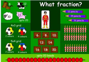 fractions topmarks