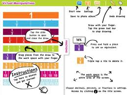 virtual manipulatives screen shot