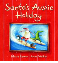 santa aussie holiday