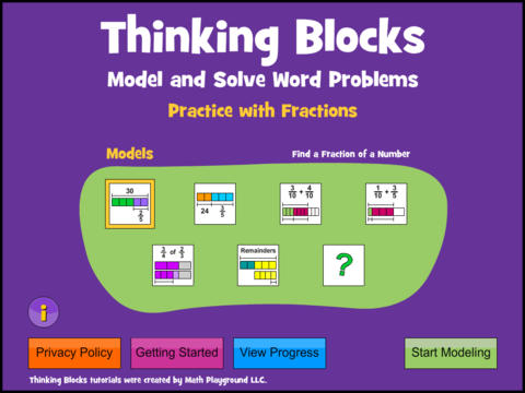 thinking block fraction 2