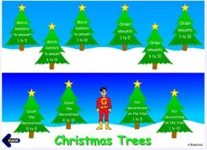 topmarks chrsistmas trees