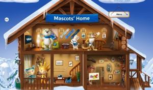 mascots winter games 2014